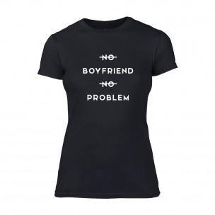 Γυναικεία Μπλούζα No Problem μαύρο