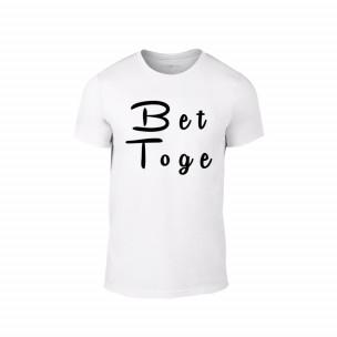 Κοντομάνικη μπλούζα Better Together λευκό Χρώμα Μέγεθος S
