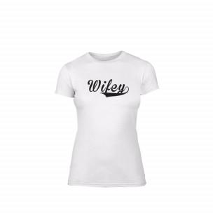 Γυναικεία Μπλούζα Wifey λευκό Χρώμα Μέγεθος M