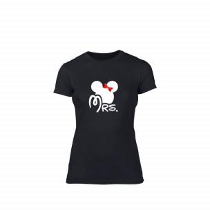 Γυναικεία Μπλούζα Mrs. Minnie μαύρο Χρώμα Μέγεθος S