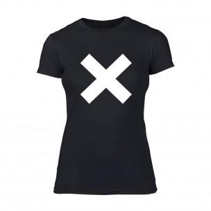 Γυναικεία Μπλούζα X μαύρο