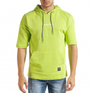 Ανδρικό πράσινο φούτερ Clang Clang