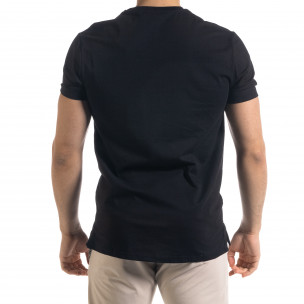 Ανδρική μαύρη κοντομάνικη μπλούζα Vae Victis 2