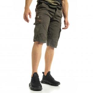 Ανδρικό πράσινο βερμούδα Blackzi