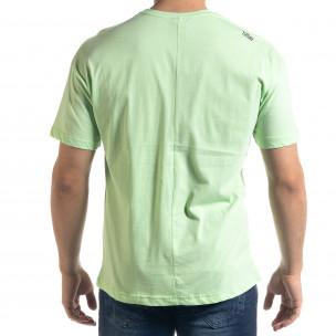 Ανδρική πράσινη κοντομάνικη μπλούζα SAW 2