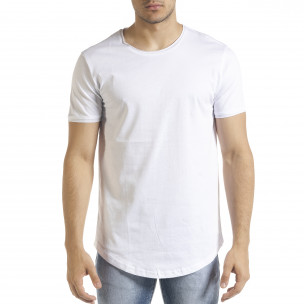Ανδρική λευκή κοντομάνικη μπλούζα Clang