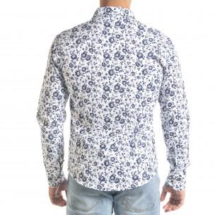Ανδρικό λευκό πουκάμισο Flyboys Flyboys 2