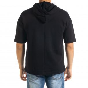 Ανδρικό μαύρο φούτερ Clang  2