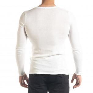 Ανδρική λευκή μπλούζα Lagos  2