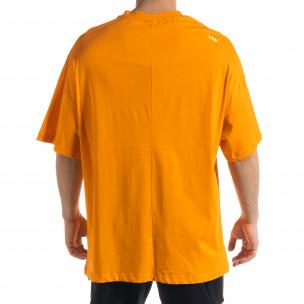 Ανδρική πορτοκαλιά κοντομάνικη μπλούζα SAW 2