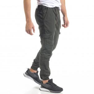 Ανδρικό πράσινο παντελόνι Cargo Jogger