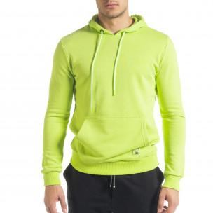Ανδρικό πράσινο φούτερ Breezy