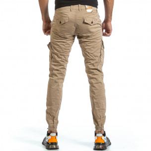 Ανδρικό μπεζ παντελόνι cargo Blackzi Blackzi 2