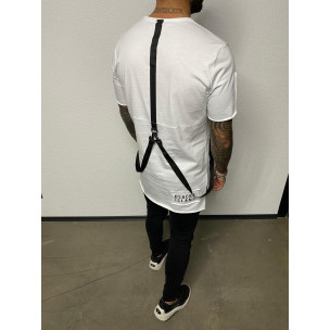 Ανδρική λευκή κοντομάνικη μπλούζα Black Island 2