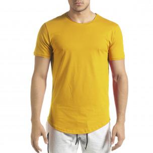 Ανδρική κίτρινη κοντομάνικη μπλούζα Clang Clang