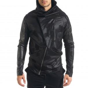 Ανδρικό μαύρο φούτερ 2Y Premium 2