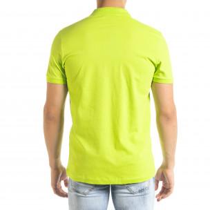 Ανδρική πράσινη πολο Clang  2
