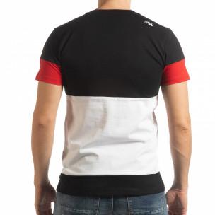 Ανδρική πολύχρωμη κοντομάνικη μπλούζα Move  2