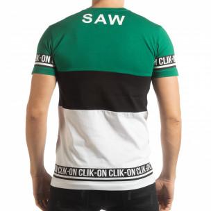 Ανδρική κοντομάνικη μπλούζα Free GBW  2