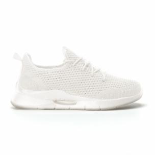 Ανδρικά λευκά αθλητικά παπούτσια Hole design ελαφρύ μοντέλο
