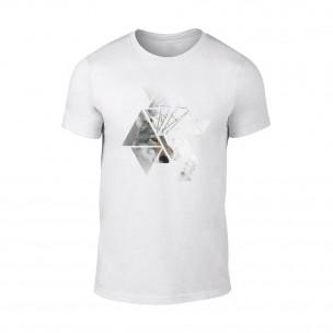 Κοντομάνικη μπλούζα Wolf 1 λευκό