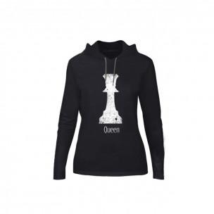Γυναικεία Μπλούζα Chess μαύρο, Μέγεθος S