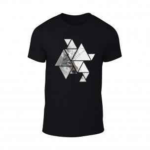 Κοντομάνικη μπλούζα Wolf 1 μαύρο