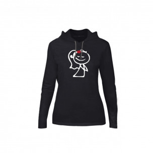 Γυναικεία Μπλούζα Love Gift μαύρο, Μέγεθος M