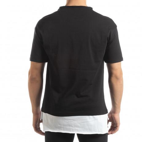 Ανδρική μαύρη κοντομάνικη μπλούζα Darth Vader 2