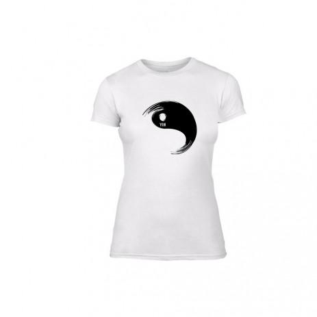 Γυναικεία Μπλούζα Feng Shui Balance λευκό Χρώμα Μέγεθος M