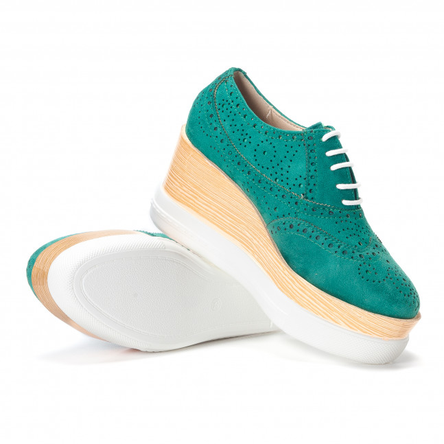 ... Γυναικεία πράσινα παπουτσια με πλατφορμα VeraBlum it240118-58 5 c9578b74375