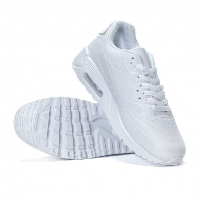 ... Ανδρικά λευκά αθλητικά παπούτσια με σόλες αέρα it240418-26 4 34531cf215e