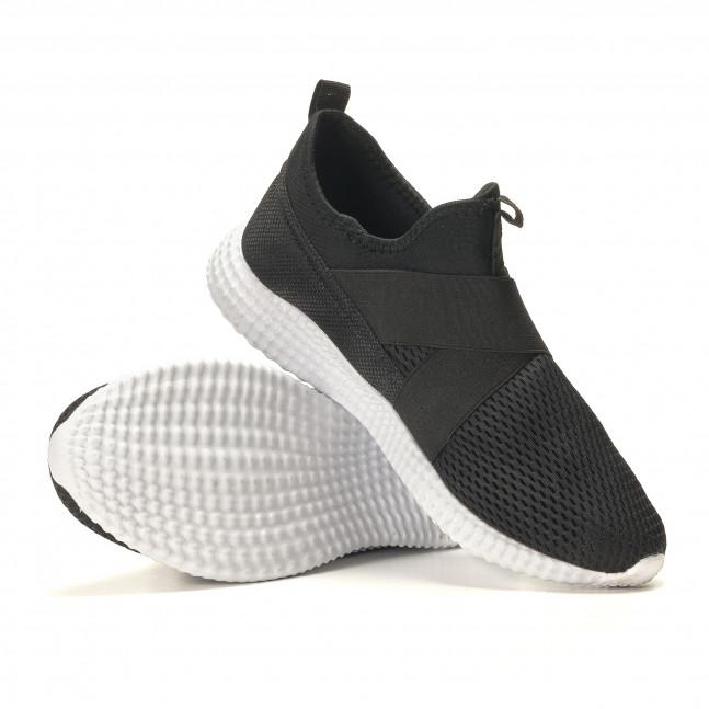 a69cfa00745 Ανδρικά μαύρα αθλητικά παπούτσια Naban it110517-2 - Fashionmix.gr