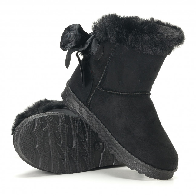 3a6b5dac49 Γυναικεία μαύρα μποτάκια GoGo it251017-26 - Fashionmix.gr