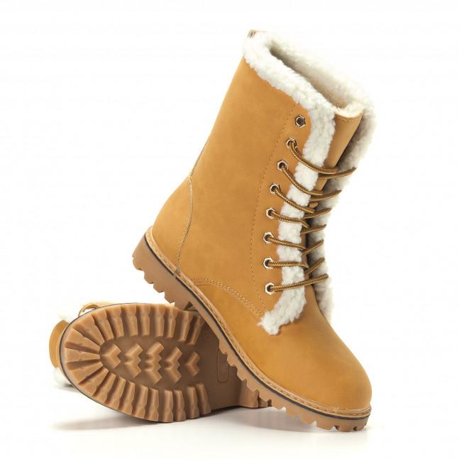 dbd3067fe4e Γυναικεία μπεζ μποτάκια GoGo it251017-24 - Fashionmix.gr