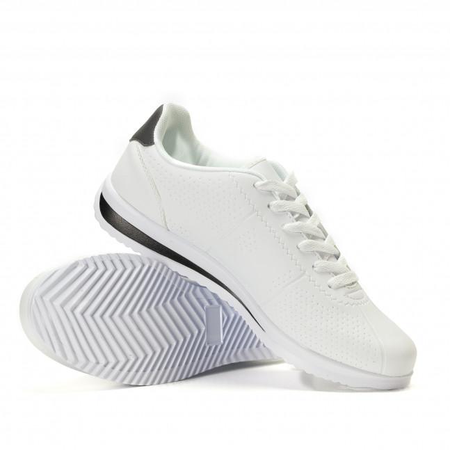 Ανδρικά λευκά αθλητικά παπούτσια FM it020617-26 - Fashionmix.gr fab5d7dc1ee