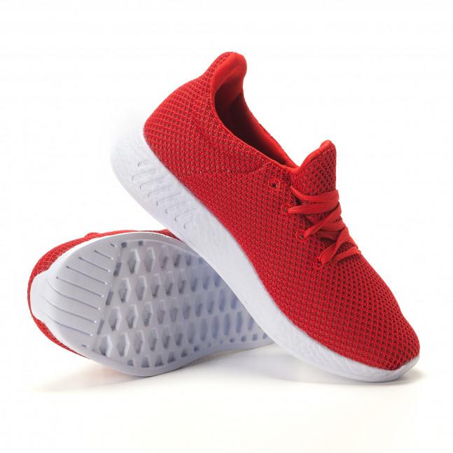 ff481789531 Ανδρικά κόκκινα αθλητικά παπούτσια Naban