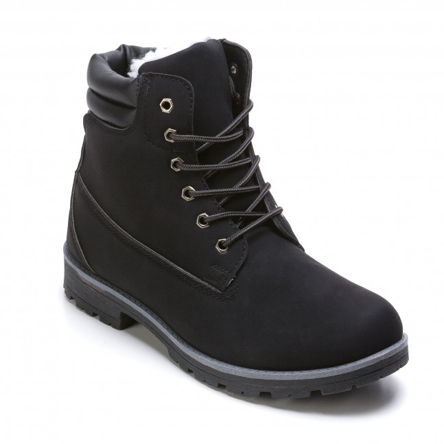 6cdccf651c4 Ανδρικά μαύρα μποτάκια Leerd it021215-9 - Fashionmix.gr