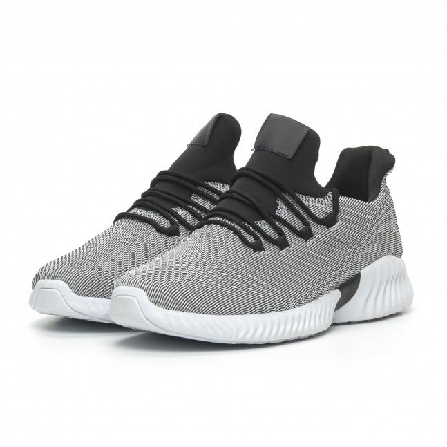 7840f7560aa ... 2 Ανδρικά γκρι αθλητικά παπούτσια Wave ελαφρύ μοντέλο it100519-5 3 ...