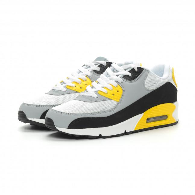 0a6436fb396 ... Ανδρικά πολύχρωμα αθλητικά παπούτσια με αερόσολα it150319-21 4 ...