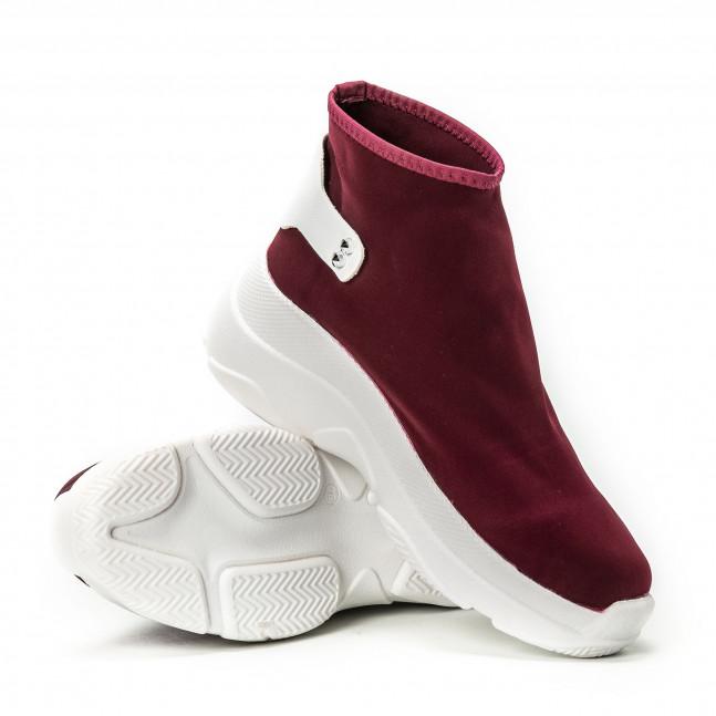 Γυναικεία κόκκινα sneakers χωρίς κορδόνια it150818-74 - Fashionmix.gr 0ba8982bf9c