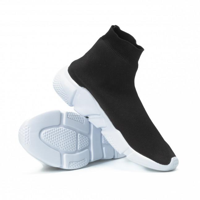 Ανδρικά μαύρα αθλητικά παπούτσια Slip- on it150818-24 - Fashionmix.gr c653e61b9ed
