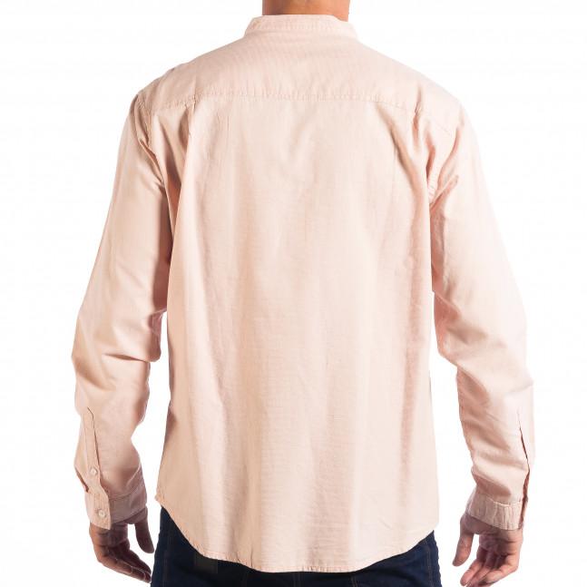 Ανδρικό ροζ πουκάμισο Regular fit RESERVED lp070818-124 - Fashionmix.gr 85bc4fa2135