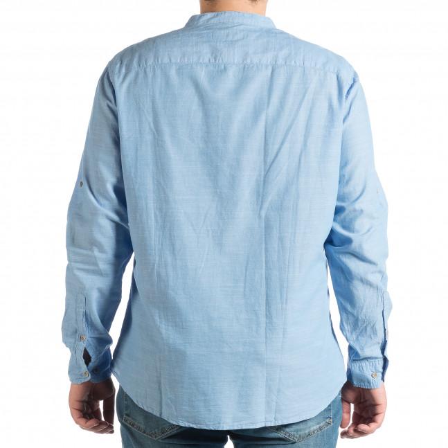 62cc481e1f22 Ανδρικό γαλάζιο πουκάμισο RESERVED lp290918-182 - Fashionmix.gr