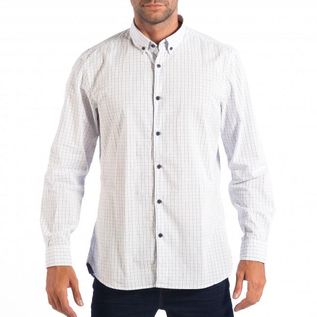 Ανδρικό λευκό πουκάμισο RESERVED lp070818-138 - Fashionmix.gr a9b565bb7d0