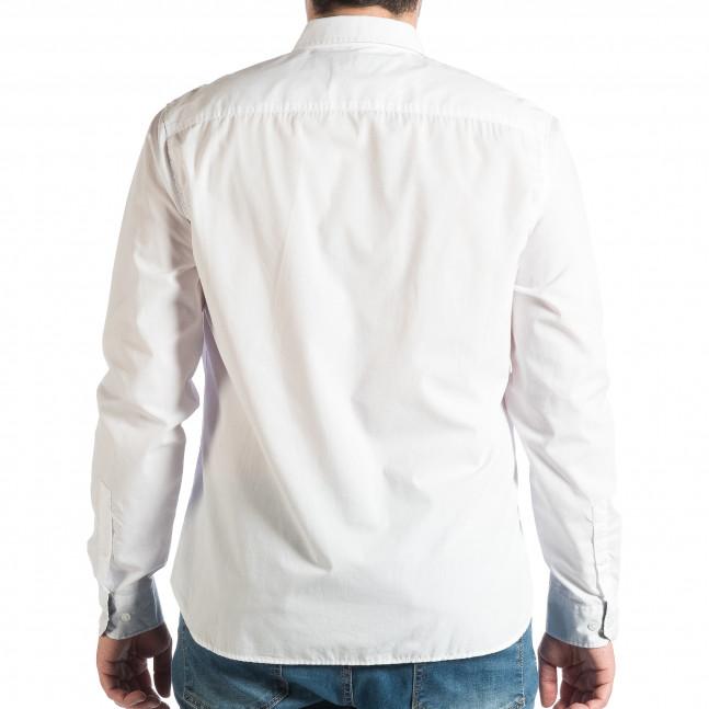 51fe157044af Ανδρικό λευκό πουκάμισο RESERVED lp290918-177 - Fashionmix.gr