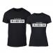 Μπλουζες για ζευγάρια Rockstar μαύρο TMN-CP-214 2